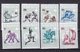 Rwanda 1976 sport olimpiada MI 799-806 MNH w65, Nestampilat