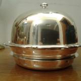 Legumiera argint masiv, Vas