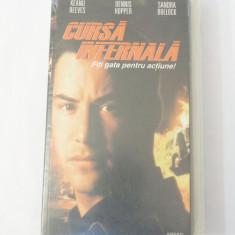 Caseta video VHS originala film tradus Ro - Cursa Infernala