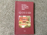 Muzeul de istorie naturala sibiu ghid ilustrat doltu weiss sibiu 1973 RSR, Alta editura