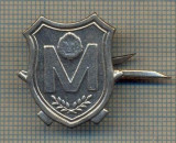 Y 1654 INSIGNA - MILITARA -SEMN DE ARMA -MILITIE -RSR  -PENTRU COLECTIONARI