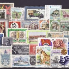 102 - Lot timbre diverse tari