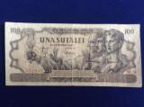 Bancnote România - 100 lei 1947 - seria W.9 031843 (starea care se vede)