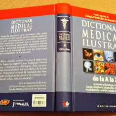 Dictionar Medical Ilustrat de la A la Z Volumul 4 (DEN-ENT) - Ed. Litera, 2013