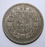 100 LEI 1932 LONDRA . DETALII EXCELENTE ., Argint