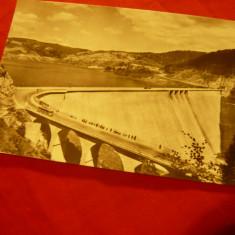 Ilustrata Bicaz - Barajul si Lacul de Acumulare , anii '60