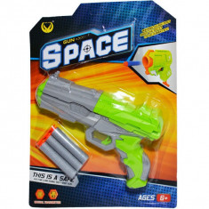Pistol cu ventuze pe blister