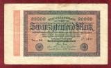 Bancnota Germania  -  REICHSBANKNOTE   - 20.000 MARK  1923