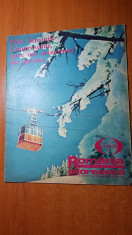 romania pitoreasca decembrie 1979-art. si foto orasul brad,si jud. mehedinti foto