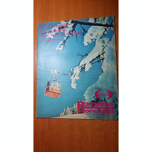 romania pitoreasca decembrie 1979-art. si foto orasul brad,si jud. mehedinti