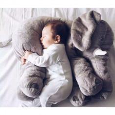 Perna pozitionare bebe, elefant gri, 60x40 cm