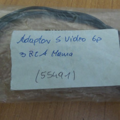 Adaptor SVideo 6P - 3RCA Mama #55491