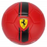 Minge de Fotbal Ferrari Rosie Marimea 5