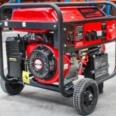 Generator curent pe benzina trifazat (1 x 380V, 2 x 220V), AVR, putere maxima...