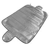 Cumpara ieftin Parasolar auto exterior iarna-vara RoGroup, folie aluminiu, 140 cm x 100 cm