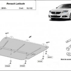 Scut motor metalic Renault Latitude 2010-prezent
