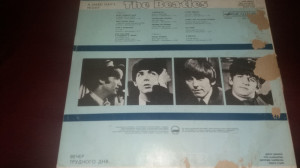 DISC VINIL THE BEATLES - A HARD DAY S NIGHT