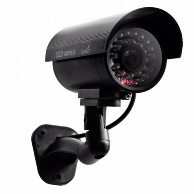 Camera de supraveghere falsa CCTV cu Led-uri