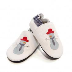Pantofi cu talpa moale Liliputi Funky Snowman