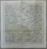 Gyergyo-Alfalu (Joseni)// harta Serviciul Geografic Armatei 1916