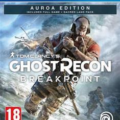 Joc Tom Clancy S Ghost Recon Breakpoint Aurora Edition Ps4