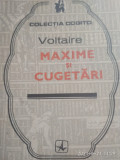 Voltaire- Maxime si cugetari