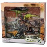 Set 6 figurine dinozauri Collecta, plastic cauciucat, 3 ani+