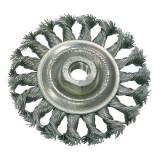 Perie sarma impletita cu filet Proline, tip circular, 100 mm