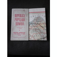 HARTA, REPUBLICA POPULARA ROMANA 1948