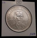 Moneda - medalie argint N. Balcescu - 1948 Centenarul anului revolutionar