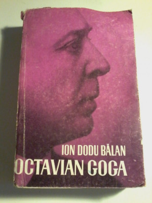 Ion Dodu Balan - Octavian Goga foto