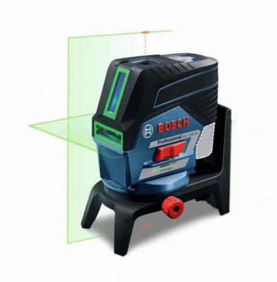 Bosch GCL 2-50 CG + RM 2 + BM 3 (solo) Nivela laser verde cu linii (20 m) cu Bluetooth + Suport professional + Clema pentru tavan + L-Boxx foto