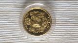 20 lei 1922 Ferdinand I. România BNR 2009 replica 20 lei 6.45 g Aur 22K PROOF