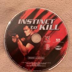 Film DVD - Instinct to kill