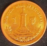 Moneda exotica 1 PENNY - ISLE OF MAN, anul 2009 *cod 3186, Europa