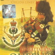 1st Battalion Queen's Own Highlanders–Pipes & Drums From Scotland Ceilidh Lines