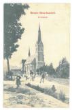 1127 - REMETEA MARE, Arad, Church, Romania - old postcard - used - 1909, Circulata, Printata