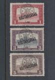 ROMANIA 1919 - EMISIUNEA CLUJ ORADEA  - PARLAMENT SERIE MNH