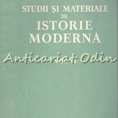 Studii Si Materiale De Istorie Moderna VI - N. Adaniloaie, Dan Berinde