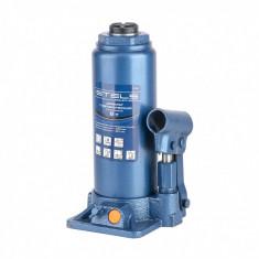 Cric hidraulic tip butelie, 8 t, H 230-457 mm, Stels