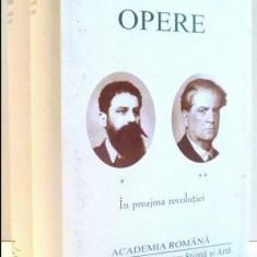 OPERE In preajma revolutiei  / C. Stere  Vol. 1-2 ed. de lux velina