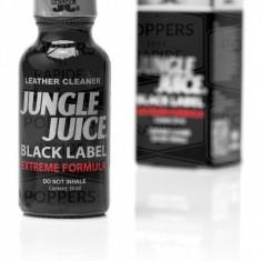 Jungle Juice Black Label Poppers 30ml, aroma camera EXTREME FORMULA, ORIGINAL, SIGILAT, popers, cel mai tare de pe piata!