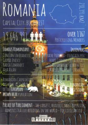 Carte postala CP MS076 Sighisoara - Turnul cu ceas - necirculata foto