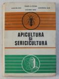 APICULTURA SI SERICICULTURA de CARMEN LIA SPATARU ..ALEXANDRINA SABAU , 1983