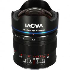 Obiectiv Manual Venus Optics Laowa 9mm F5.6 FF RL Ultra-Wide pentru Sony E-mount