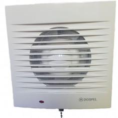 Ventilator Dospel 150mm New Generation, perete sau tava, plasa anti insecte, 25w