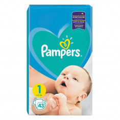 Pampers New Born - nr.1, 43 buc