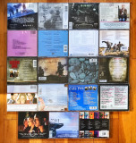 Lot 19 coloane sonore pe CD (Titanic, Dirty Dancing, Jackie Brown, Miami Vice..)