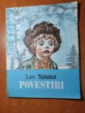 carte pentru copii - povestiri - de lev tolstoi - din anul 1988