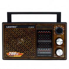 Radio portabil Leotec LT-2016 Negru / Maro